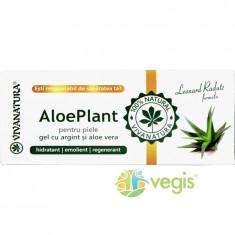 Gel Aloe Vera & Argint Coloidal AloePlant 20ml