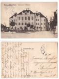 Targu Mures 1915 - Colegiul Reformat, ilustrata circulata