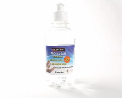 Lichid dezinfectant pentru mâini -250 ML foto