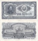1952 (26 I), 100 lei (P-90b) - România