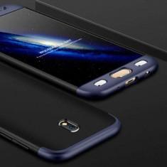 Husa Samsung Galaxy J5 J530 2017 Acoperire Completa 360 De Grade Matuita Albastra Blue