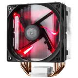 Cooler procesor, Hyper. 212 LED, soc. LGA 2011/1366/115x/775/FMx/AM3x/AM2x, Al-Cu, 4* heatpipe, 180W