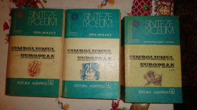 Simbolismul european 3 volume /1770pagini- Zina Molcut foto