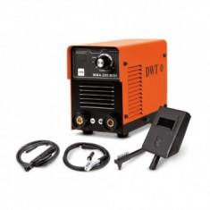 Invertor de sudura DWT MMA-200 Mini, 150 A, 230 V, electrod 2.5-3.2 mm, 3.6 kg, accesorii incluse