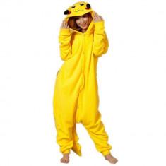 Costum tip Pijama Kigurumi Pikachu pentru Carnavale sau Petreceri, Marime XL
