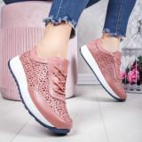 Pantofi sport Piele dama roz Salira -rl