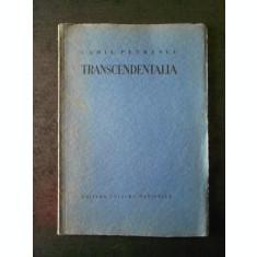 CAMIL PETRESCU - TRANSCENDENTALIA 1931, prima editie cu semnatura, exemplarul 52