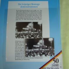 """3 Cartele Telefonice """"50 Jahre Deutschland"""" - Exponate NOI / 6"""