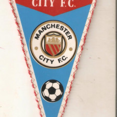 Fanion Manchester City FC.