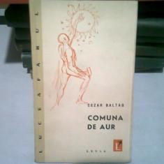 COMUNA DE AUR - CEZAR BALTAG (CU DEDICATIA AUTORULUI)
