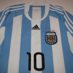 Tricou ADIDAS fotbal - ARGENTINA (nr. 10 MESSI), XL, Din imagine, Nationala