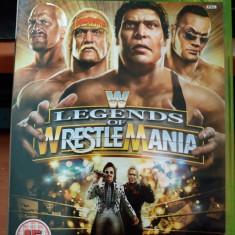 Joc Legends of Wrestlemania, XBOX360, original, alte sute de jocuri!, Sporturi, 16+, Single player