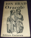 Ion Brad - ORACOLE (versuri, 1987), poezii editie princeps