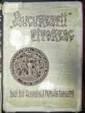 "BUCURESTII PITORESC ,DOUA ZECI GRAVURI DE POITEVIN SCHELETTI ,TIPARITA IN 1938 DE ""LUNA BUCURESTILOR"""
