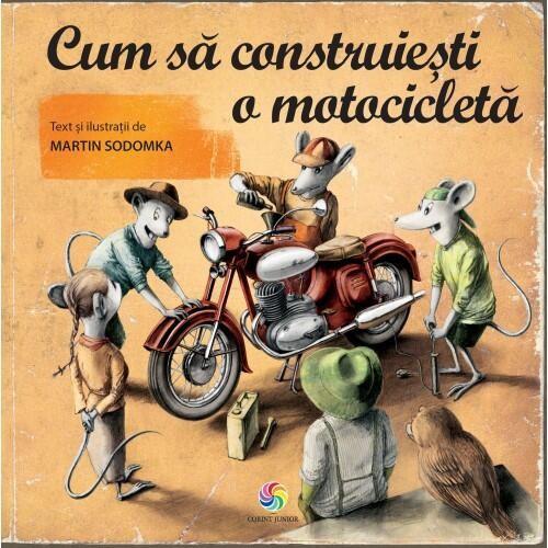 Cum sa construiesti o motocicleta PlayLearn Toys