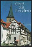 GERMANIA - GRUSS AUS FREINSHEIM - RATHAUS - CAFE - CP CIRCULATA #colectosfera