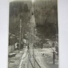 Carte postala foto Adler Oscar/Brasov,Comandău(Covasna)-Funicularul terestru, Necirculata, Fotografie, Comandau