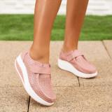 Pantofi dama Piele casual roz Valesia