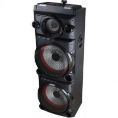 Sistem audio Akai DJ-8215 Bluetooth DJ Effect party light karaoke Negru