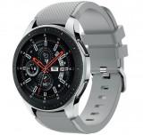Curea ceas Smartwatch Samsung Gear S3, iUni 22 mm Silicon Grey