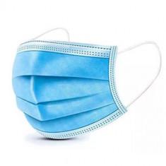Set 50 bucati Masca Protectie Respiratorie 3 straturi, 3 pliuri, Albastru