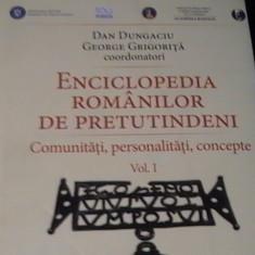 ENCICLOPEDIA ROMANILOR DE PRETUTINDENI-COMUNITATI-PERSONALITATI-CONCEPTE- VOL1-
