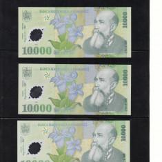 Romania 10000 lei 2000 necirculata P112b semnatura Isarescu