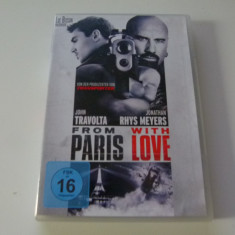 From paris with love - dvd, Engleza
