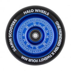 Roata trotineta Slamm 110mm Halo Deep Dish Blue + Abec 9