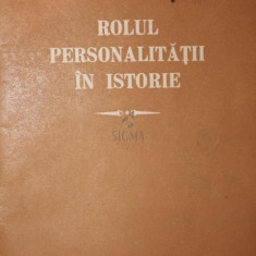 ROLUL PERSONALITATII IN ISTORIE - G . V . PLEHANOV