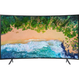 Televizor LED Curbat Samsung 49NU7302, 123 cm, Smat TV 4K Ultra HD, 125 cm