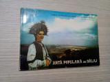 ARTA POULARA DIN SALAJ - Viorel Mezei (grafica) - 1969, album; tiraj: 4000 ex., Alta editura