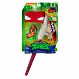 Set masca si accesorii Testoasele Ninja Raphael Ninja Gear