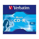 CD-R Verbatim 43365 16 80min 1buc Jewel case