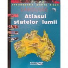 Enciclopedia pentru tineri Larousse: Atlasul statelor lumii
