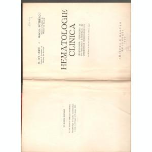 Hematologie clinica 1935 Embriologie 1946