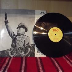 disc vinil Mussolini