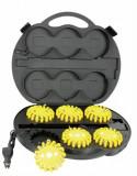Set 6 girofaruri magnetice LED cu acumulatori