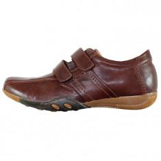 Pantofi casual dama piele naturala - Nicolis maro - 14675-Maro-38