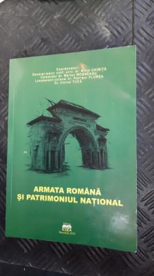 ARMATA ROMANA SI PATRIMONIUL NATIONAL ANUL 2010 /PAGINI 529 FORMAT MAI MARE . foto