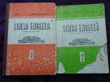 Limba engleza, Lot 2 manuale pt anul I, II de studiu, A.Ionici, GG.Farnoaga,1982