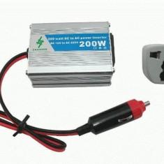 Invertor auto 200W Chaomin, 12V, sinusoida modificata
