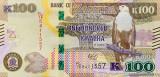 ZAMBIA █ bancnota █ 100 Kwacha █ 2018 █ P-61 █ UNC █ necirculata