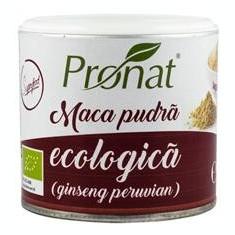 Pudra de Maca Bio 90gr Pronat Cod: PRN11430