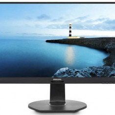 Monitor IPS LED Philips 27inch 272B7QPJEB/00 QHD (2560 x 1440), VGA, HDMI, DIsplayPort, USB 3.0, Pivot, Boxe, 5 ms (Negru)