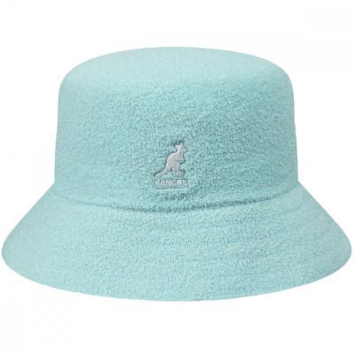 Palarie Kangol Bermuda Bucket Albastru Deschis (Masura : L) - Cod 235225423564 foto