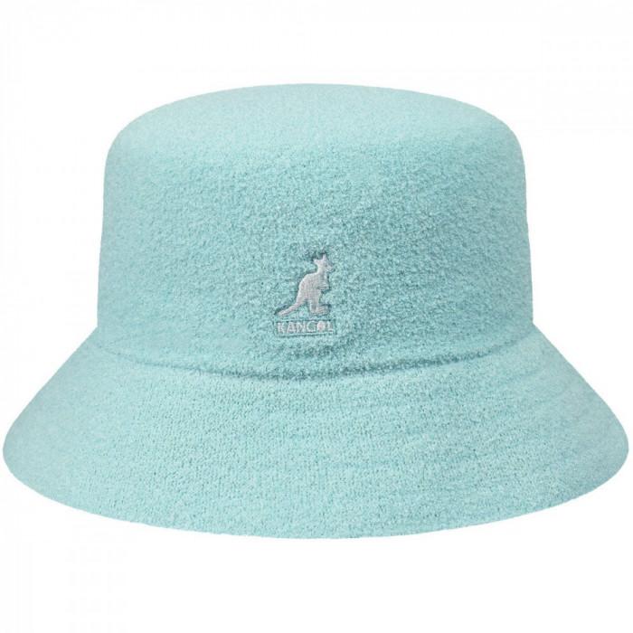 Palarie Kangol Bermuda Bucket Albastru Deschis (Masura : L) - Cod 235225423564