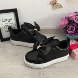 Adidasi negri cu urechi fundita pantofi sport cu platforma pt fete / dama 35