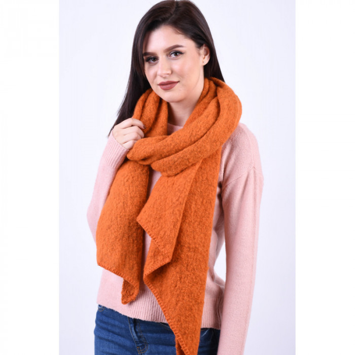 Fular Pieces Pyron Long Scarf Rust