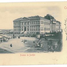 3984 - CRAIOVA, Justice Palace, Litho, Romania - old postcard - used - 1903, Circulata, Printata